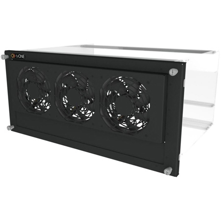 tvONE ONErack 1RK-4RU-FAN 4RU Fan Cover and PSU Connector Cable to be Powered By 1RK-4RU-PSU