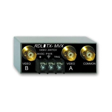 RDL TX-MVX Manual Remote Controlled Video Switch - 2x1 - BNC