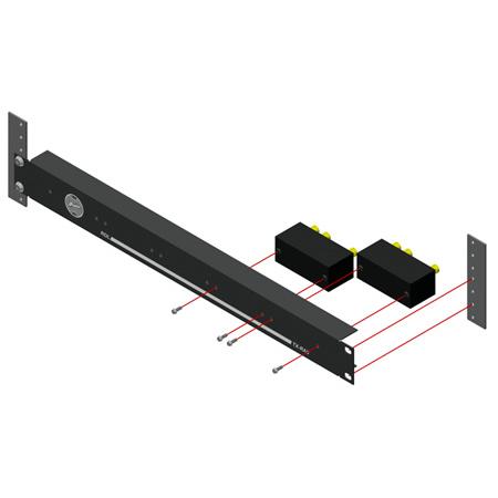 RDL TX-RA5 TX Series 19in Racking System - 5 Modules 1RU