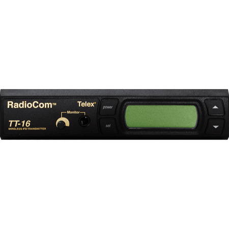 RTS TT-16 16-Channel Synthesized Wireless IFB Transmitter