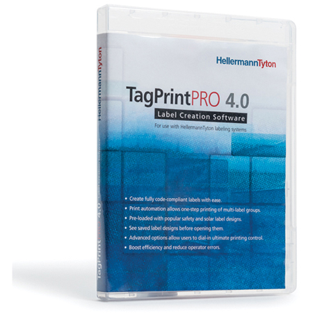 HellermannTyton 556-00035 Tagprint Pro 4.0 Software