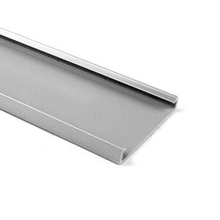 HellermannTyton TC2G4 2-Inch Wide 6 Foot Length PVC Wiring Duct Cover for TYT-2X2 - Gray
