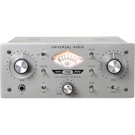 Universal Audio 710d Twin-Finity Single-Channel Tube & Tone-Blending Mic Pre/DI