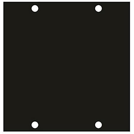 1-Gang Wide Blank UCP Module