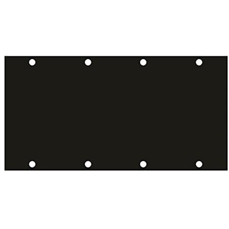 2-Gang Wide Blank UCP Module