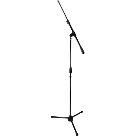 Ultimate Support PRO-R-T-T Pro Series R Microphone Stand with Quarter-Turn Clutch - Reinforced Plastic Tripod Base/Stand