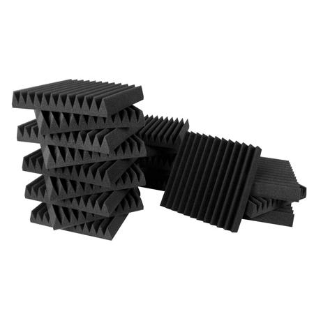 Ultimate Acoustics UA-KIT-SBI Wedge-Style Studio Foam Kit 1 - 12 x 12 x 2 Inch - 18 Pack