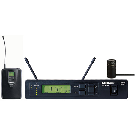 Shure ULXS14/84 Lavalier Wireless Microphone System - J1/554-590 MHz