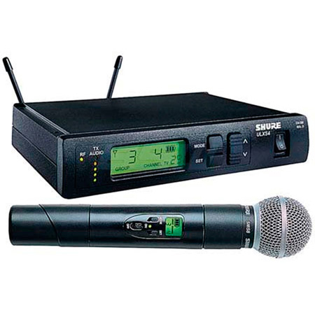 Shure ULXS24-58 Handheld Wireless Mic System with SM58 - G3 (470.150-505.875 MHz)
