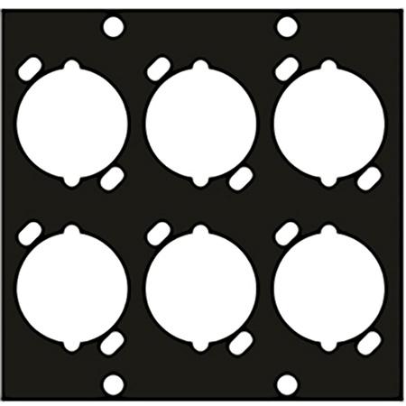UCP Module for 6 Female XLR