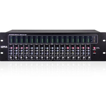 UNiKA NBB-1616 Cascadable 16x16 Bi-Directional Dante Audio Interface