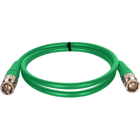 Canare VAC003F-GN BNC to BNC Patch Cable 3ft - Green
