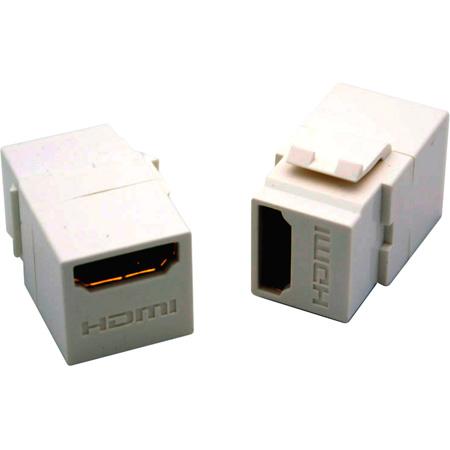 Vanco 820491 HDMI Keystone Insert HDMI F to HDMI F