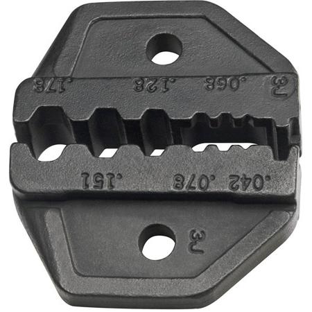 Klein Tools VDV201-042 RG174/179/Belden 8218 & Fiber Optic Die Set for VDV200-010
