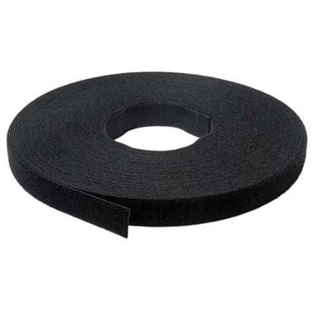 VELCRO® Brand 217240 One-Wrap Tape - 1/2 Inch x 25 Yard Tie Roll - Black