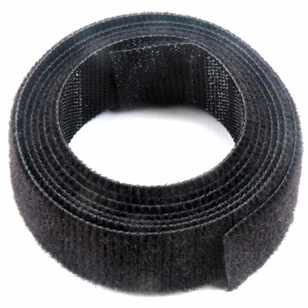 VELCRO® Brand ONE-WRAP® 3/4-Inch x 12 Foot Roll - Black