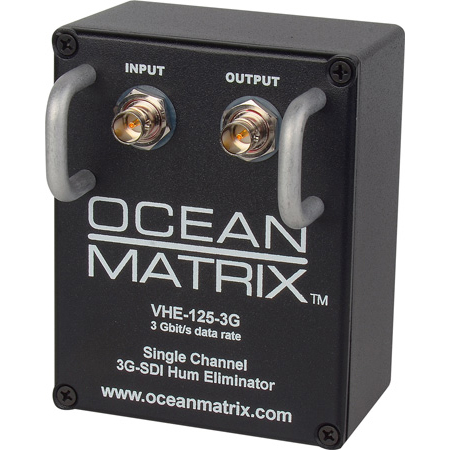 Ocean Matrix 3G-HD-SDI & SDI 1-Channel Video Hum Eliminator w/Handles