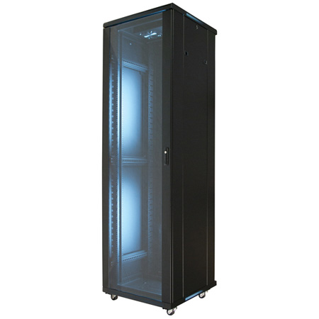 VMP EREN-42E 42U Floor Cab Empty with 2 Fans