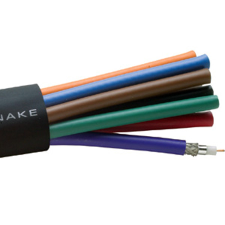 Gepco VS102001 18 AWG 10 Channel RG6 Pro Video Snake
