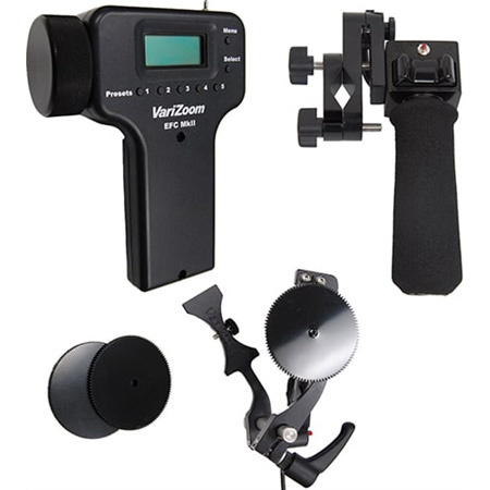 Varizoom VZ-EFZ-PGF Pistol Grip Zoom and Electronic Focus Kit for Fujinon 8pin Lenses - VZPGF / VZEFC2