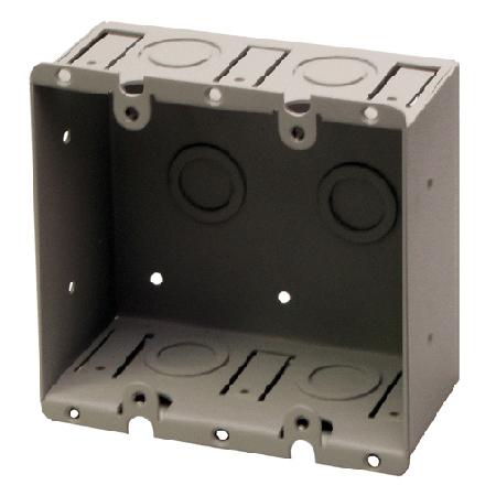 RDL WB-2U 2 Gang Universal Wall Box