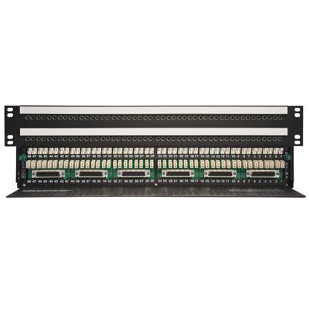 AAI WE31DB2-9615-SH 2x48 MINI SHORTI Quick-Switch Normalling Digital Ready Patchbay -1.5RU TT/Bantam  EDAC 3-Pin & DB25