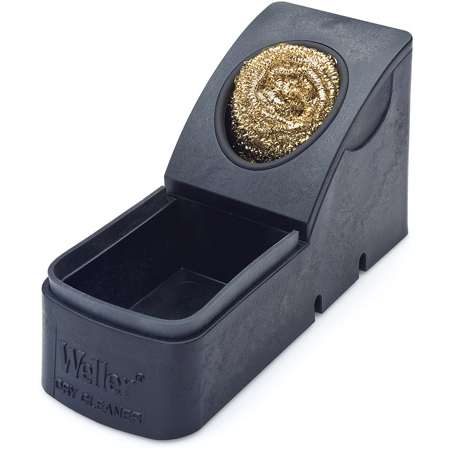 Weller WDC Soldering Tip Dry Cleaning System with Replaceable Wool