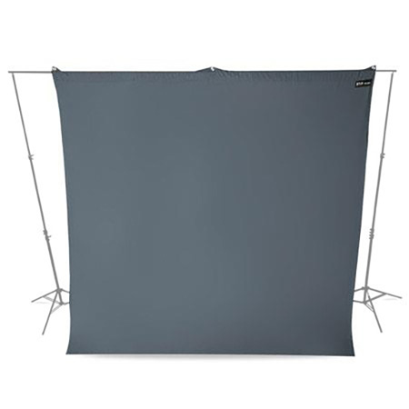 Westcott 140 9 Foot x 10 Foot Wrinkle Free Backdrop - Gray