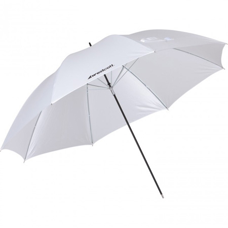 Westcott 2003 32-Inch Optical White Satin Collapsible Umbrella