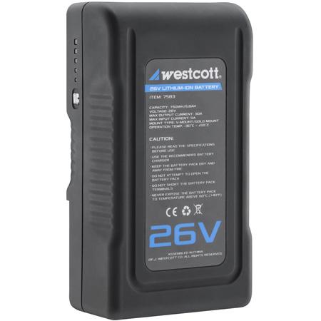 Westcott 7583 Flex Cine 26V Lithium-Ion Battery