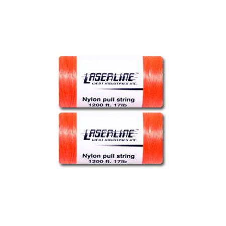 LaserLine Nylon Pull String 2pc 1200ft Spools