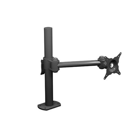 Winsted W6491 15 Inch Post - Single Monitor Articulating LCD Mount