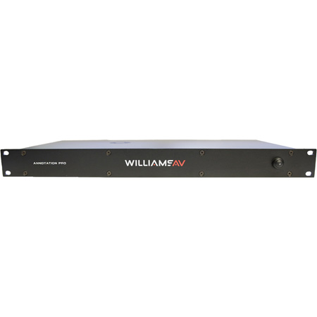 WILLIAMS AV AN-C5 Pro Video Annotation System - Simplified Menu System - 4k Video Support for Non-HDCP Format