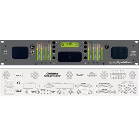 Wohler AMP2-S8MDA 8-Channel HD-SDI SD-SDI AES/EBU Analog Audio Monitor with Channel Summing