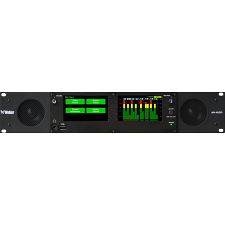 Wohler iAM-AUDIO-2 Versatile Audio Monitoring from multiple Sources with Touch Screen Control and Graphical Metering