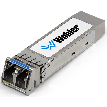Wohler SFP-MMMF MADI Optical Fiber Transceiver - Multi-Mode - LC Connectors - SFP Module with Software Activation Key