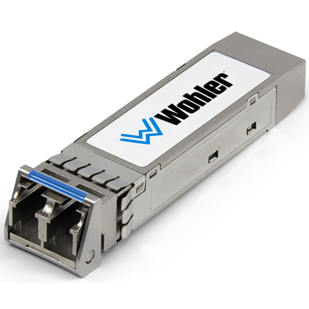 Wohler SFP-MSMF MADI Optical Fiber Transceiver - Single-Mode - LC Connectors - SFP Module with Software Activation Key