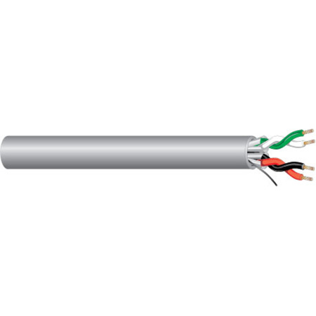 West Penn 25440B 18 Awg 2 Pair Stranded Cable - Per Foot