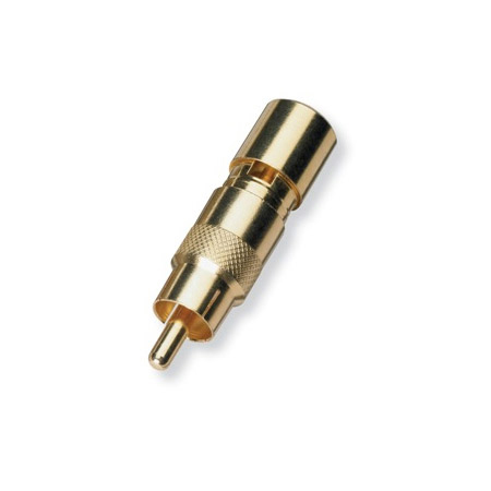 White Sands RCAFPSLC6G RCA Male Fixed Pin Full Size RG6 Compression Connector