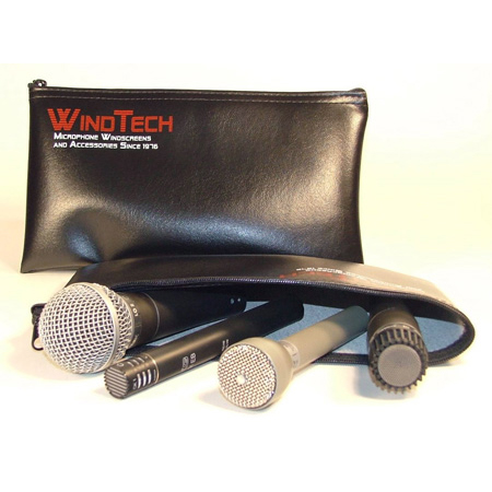 WindTech B-1BAG Leatherette Vinyl Zippered Bag 5.5in X 10.5 in