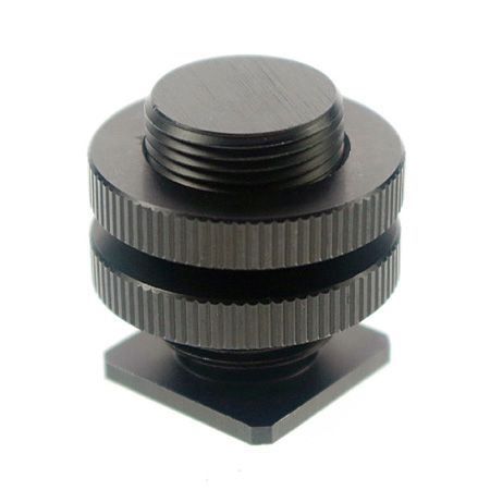 WindTech CM-58 Hot Shoe to 5/8 Inch-27 Microphone Thread