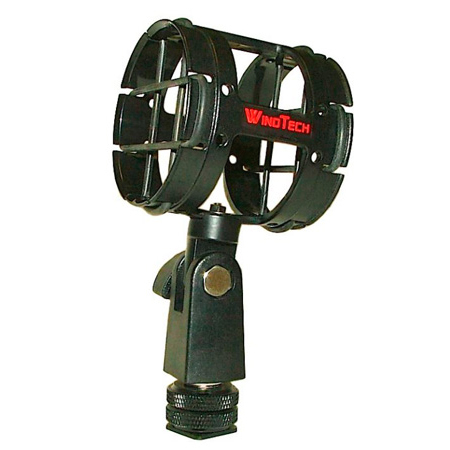 WindTech SM-4CM Microphone Suspension with Hot Shoe Adapter
