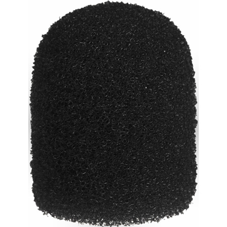 WindTech 1100 Series 1100-12 Small Size Foam Ball Windscreen 1/4 inch Black
