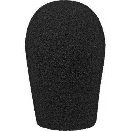 WindTech 1200 Series 1200-12 Medium Size Foam Windscreen Teardrop 3/4in Black