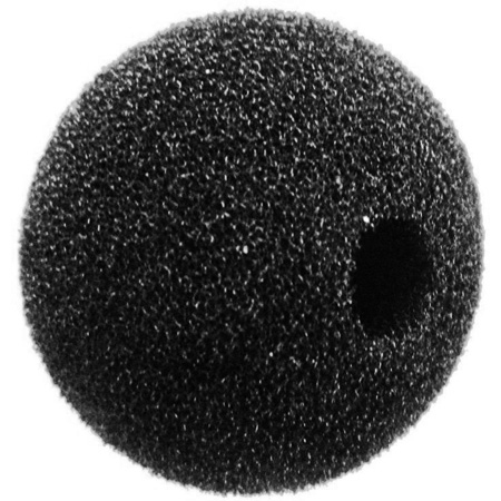 WindTech 1500 Series 1500-12 Small Size Foam Ball Windscreen 3/8in Black