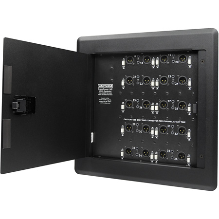 Whirlwind PRESS WALL Active Wall Mount with 14 Mic / Line Outputs