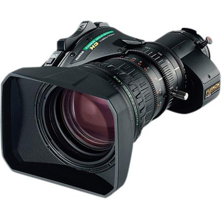 Fujinon XA20sX8.5BERM-K3 Telephoto 2 / 3 Inch ENG Lens w /  2x Range Extender Ergonomic Digital Servo Quick Zoom Inner Focus