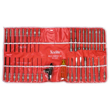 Xcelite 99MP 39-piece Series 99 Interchangeable Blade Tool Kit