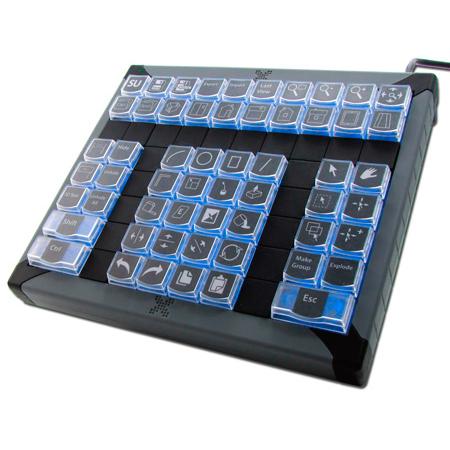 X-Keys XK-60 USB Programmable Keyboard for Windows or Mac