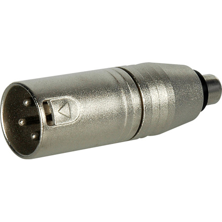 Connectronics XLM-PF XLR Male to RCA Female Audio Adapter